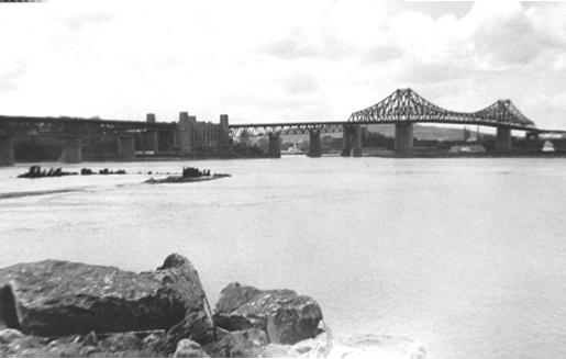 Vue sur le Pont Champlain