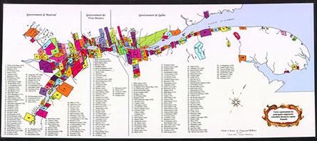 Carte des seigneuries